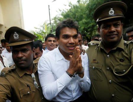 Sri Lanka Arrests Son Of Former Leader Rajapaksa