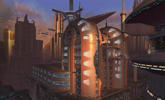 SWTOR's Coruscant artwork and PAX video