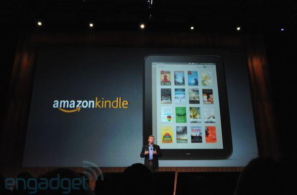 HP TouchPad to boast Skype calling, Kindle app