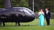 Teen's Childhood Tragedy Inspires Amazing Helicopter Prom Arrival