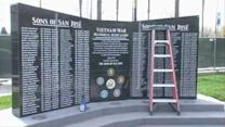 San Jose monument honors Vietnam War soldiers