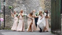 Quick thinking bridesmaid saves bride-to-be from leg amputation