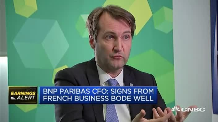 bnp paribas cfo want to remain diversified video. Black Bedroom Furniture Sets. Home Design Ideas