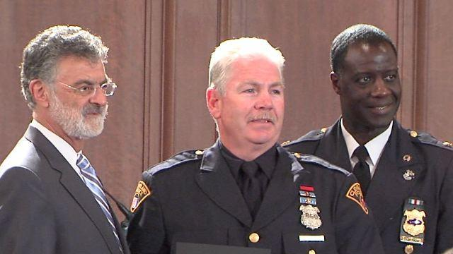 Cleveland police honor citizens, officers at awards ceremony