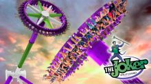 Thrilling New Pendulum Ride Inspired By DC Super-Villain The Joker Opening at Six Flags Fiesta Texas in 2019