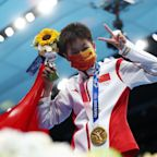 China's Quan Hongchan Scores Two Perfect Dives to Win Historic Gold
