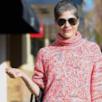 Selma Blair offers advice to people fearful about the coronavirus pandemic