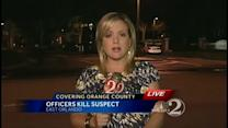 1 dead, 1 on run after shootout with OPD