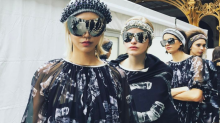 Karl Lagerfeld blasts Chanel into the stratosphere for sparkly AW17 show