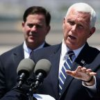 Vice President Mike Pence's Arizona trip was delayed due to Secret Service agents testing positive for COVID-19
