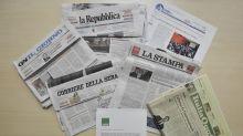 Come i quotidiani narrano la crisi