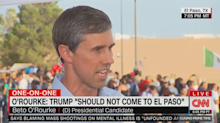 Beto O'Rourke explains why he doesn't want Trump in El Paso