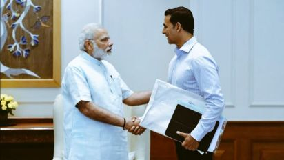 Akshay Kumar's Tweet Was About His Interview With Narendra Modi?
