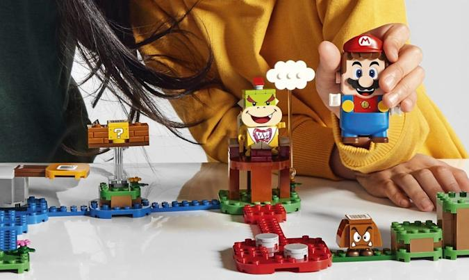 The Morning After: Meet Lego Super Mario