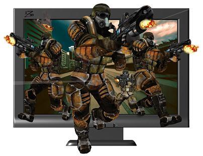 IZ3D's 22-inch 3D LCD monitor finally hits the B&M scene