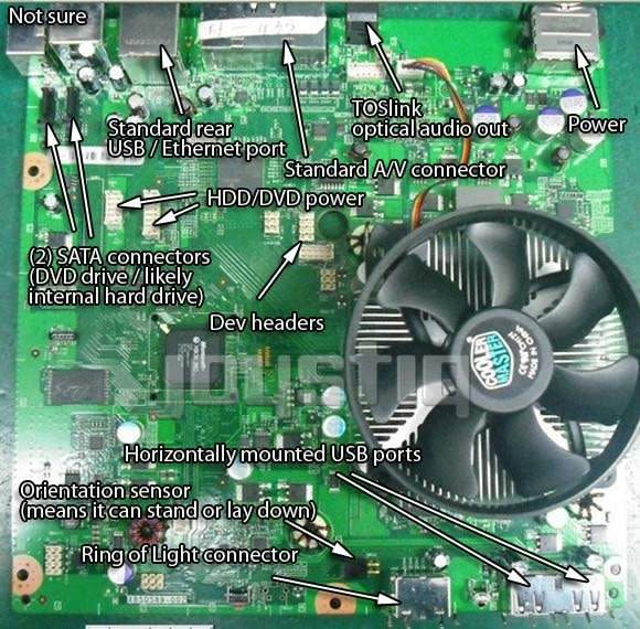 Leaked Xbox 360 'Valhalla' motherboard analyzed by Ben Heck