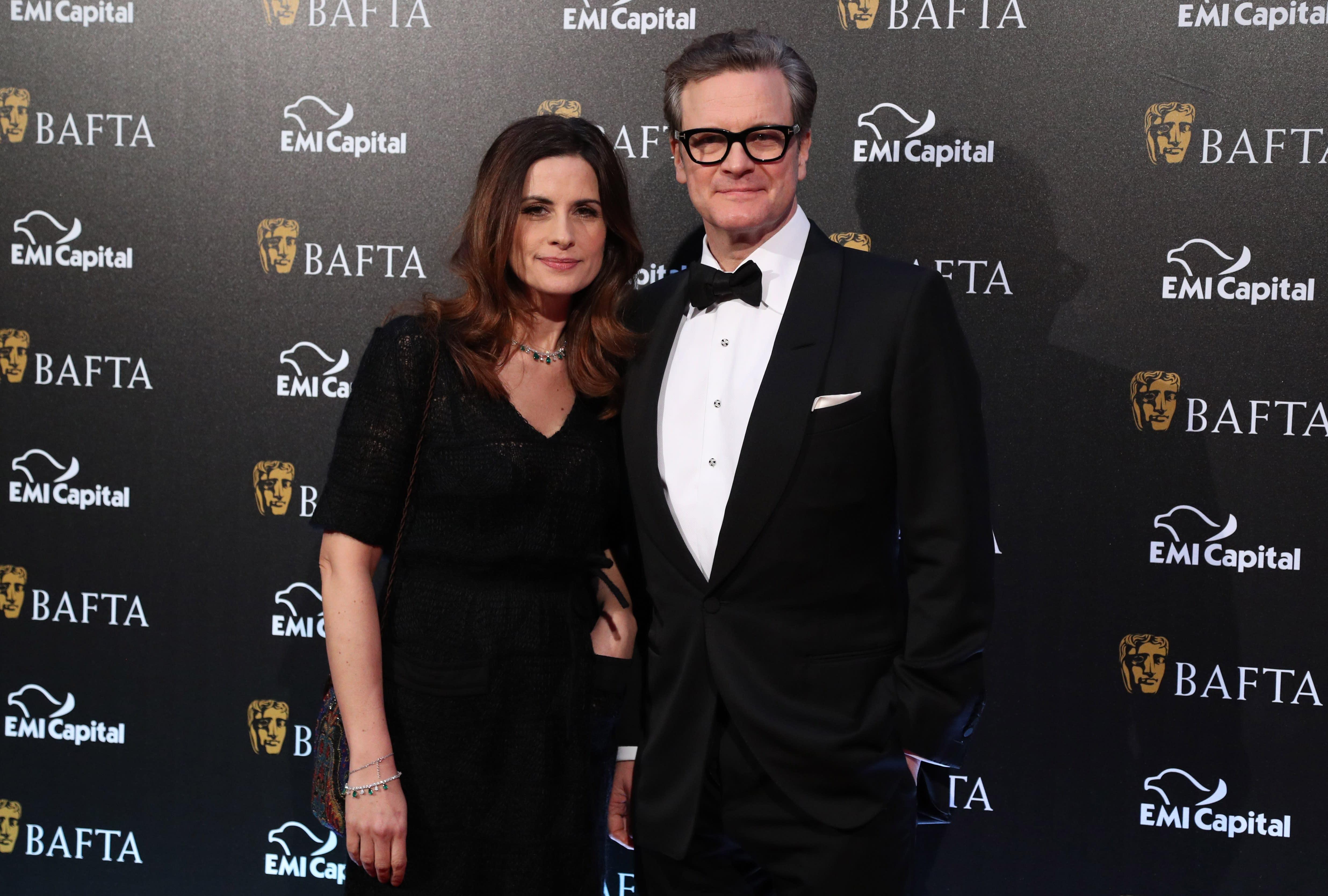 Colin Firth's wife Liv...