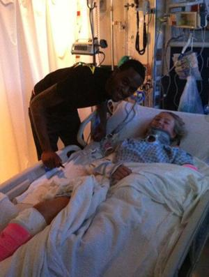 Kevin Ware Inspires 14 Year Old Car Accident Victim With Surprise