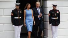 Why Melania Trump's Blue Dress Looks Very Familiar