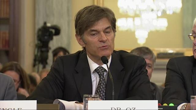 Dr. Oz Vows More Careful Wording on Weight Loss