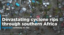 PHOTOS: Devastating cyclone rips through southern Africa