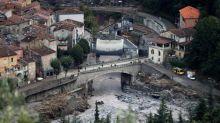 Crues dans la Roya: un maire demande le retour de l'armée