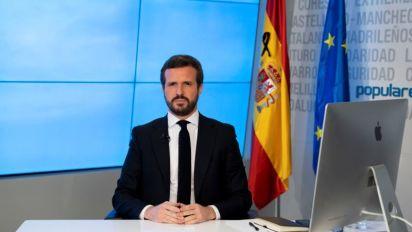 """Casado respalda la nueva prórroga pero reclama """"eficacia"""" y """"transparencia"""""""