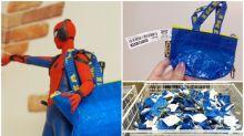 Ikea藍色Tote bag迷你版進駐日本 玩具迷用嚟做配件