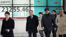 El Nikkei salva la jornada en la Bolsa de Tokio por la subida de Softbank