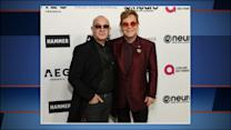 Elton John celebrates 70th birthday with star-studded party