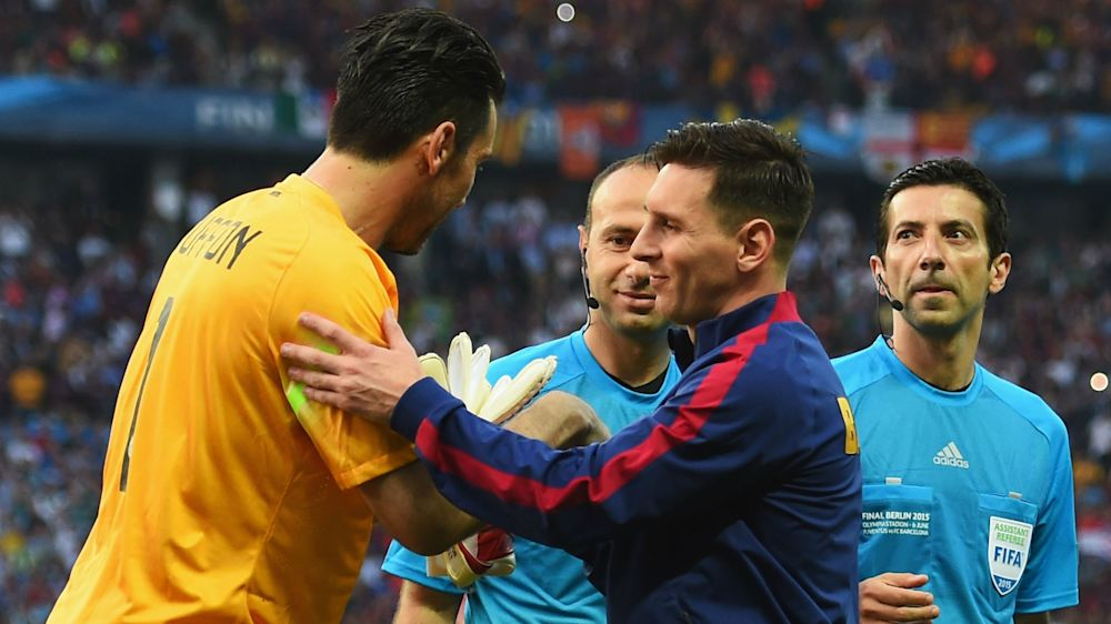 Juventus Turin, avant de se mesurer au Barça, Buffon défie Messi