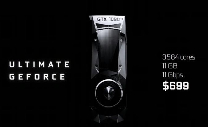 NVIDIA tiene nuevo monstruo: GTX 1080 Ti