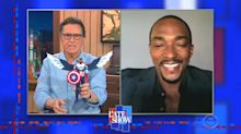Anthony Mackie's reaction to new Captain America action figure is priceless: 'Looks more like Jamie Foxx'