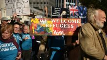 Thousands protest Australia's refugee detention policy