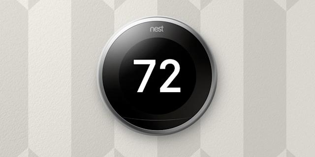 Nest Thermostat gets a larger display that's easier to read