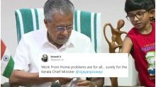 Kerala CM Pinarayi Vijayan's Grandson Crashing Press Conference is Peak Work from Home