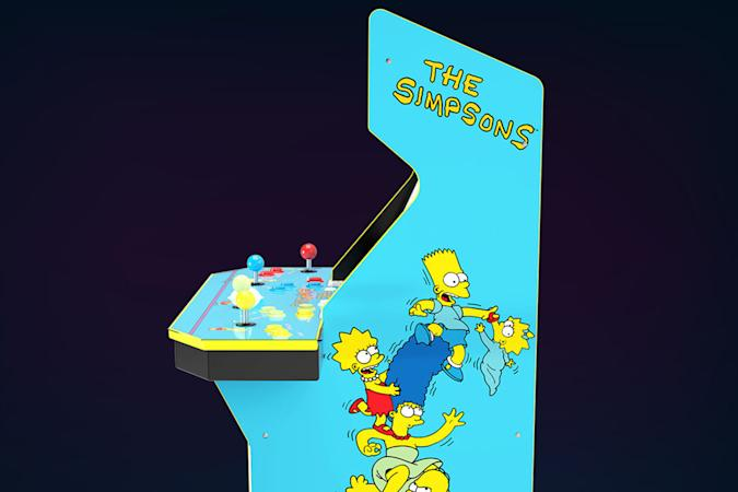'The Simpsons' retro arcade game cabinet from Arcade1Up