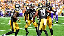 NFL touchdown celebrations of the week: Steelers' JuJu Smith-Schuster rolls the dice