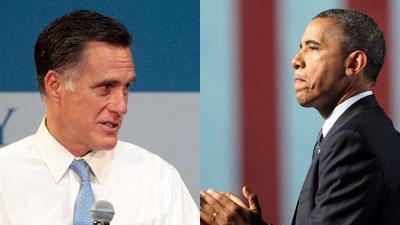 Obama, Romney ease back into fighting mode