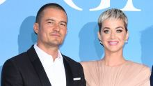 Katy Perry and Orlando Bloom Look So in Love as They Make Their Red Carpet Debut as a Couple
