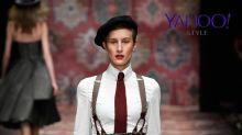 Berlin Fashion Week: Lena Hoschek hat die Hosen-(träger) an