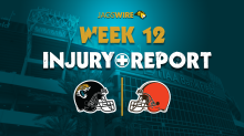 Jags Week 12 injury report: CB Sidney Jones, WR D.J. Chark amongst notables ruled out vs. Browns