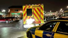Man arrested after family caught using ambulance flashing its emergency lights to go to Asda