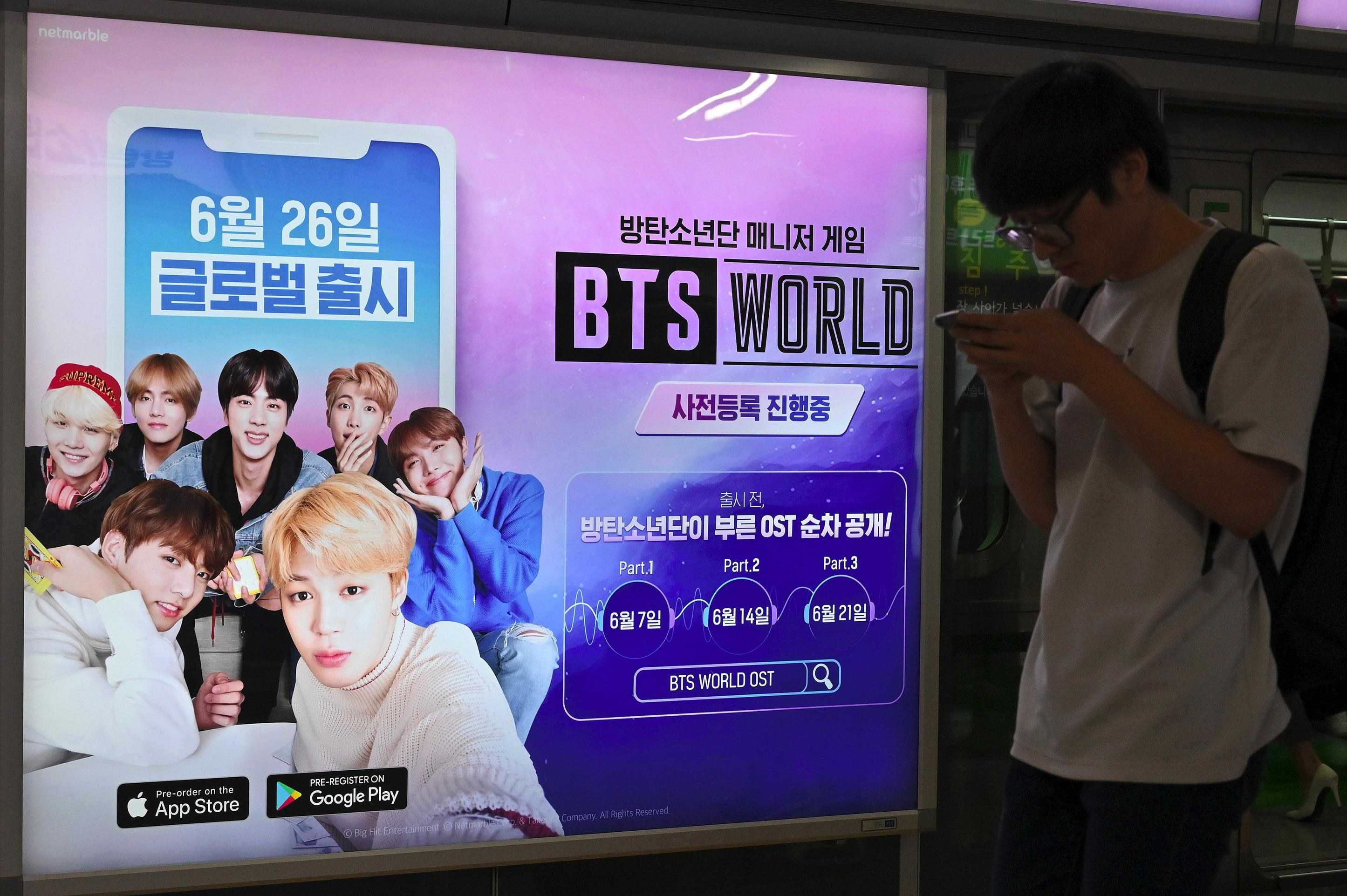 BTS fans get chance to manage their idols in new game