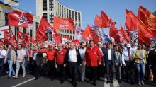 Thousands rally across Russia against raising pension ages