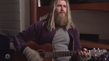 Chris Hemsworth debuts hilarious video of 'Fat Thor' performing Johnny Cash