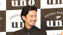 Veteran actor Yutaka Takenouchi has the face most Japanese men want to have