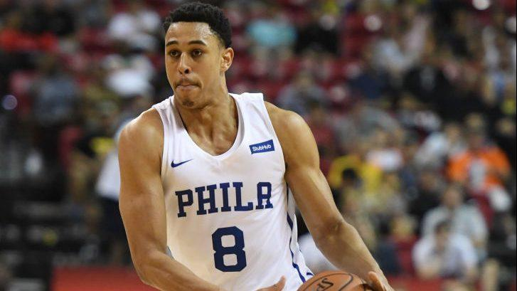 76ers coach Brett Brown says he doesn't expect rookie Zhaire Smith to play in NBA this season