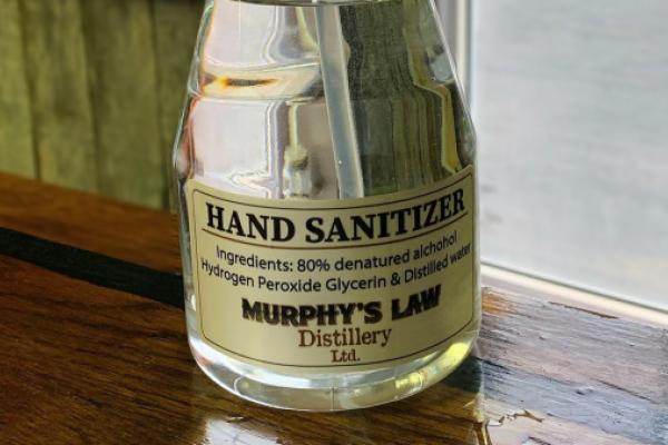 News post image: Today's Pickup: Distillery Helps Truckers Stay Safe As It Drops Moonshine For Hand Sanitizer