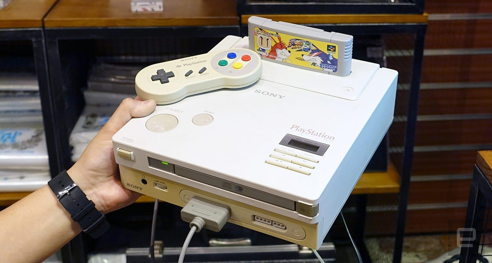 The Nintendo Playstation Can Finally Play Cd Games Engadget